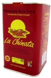 Large La Chinata Hot Spanish Smoked Paprika | Picante Pimenton de la Vera | Catering 750g | Buy Online | UK